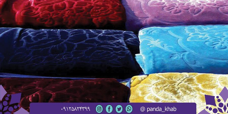 پتو ارزان قیمت نرمینه در شیراز