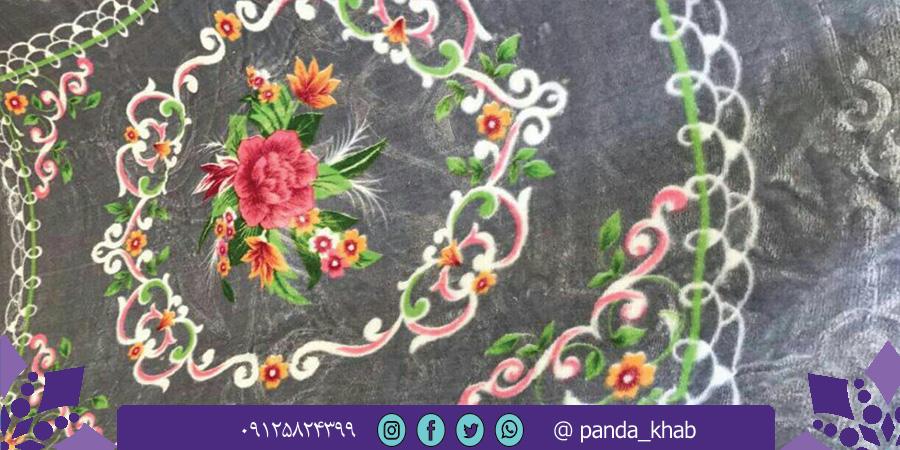 فروش پتو مسافرتی تیسا گل برجسته در شیراز