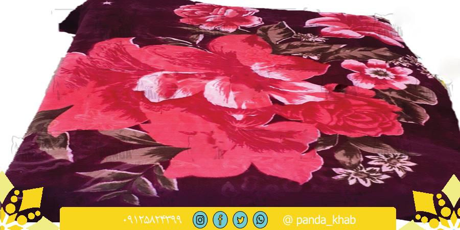 پتو گل برجسته گلاریس