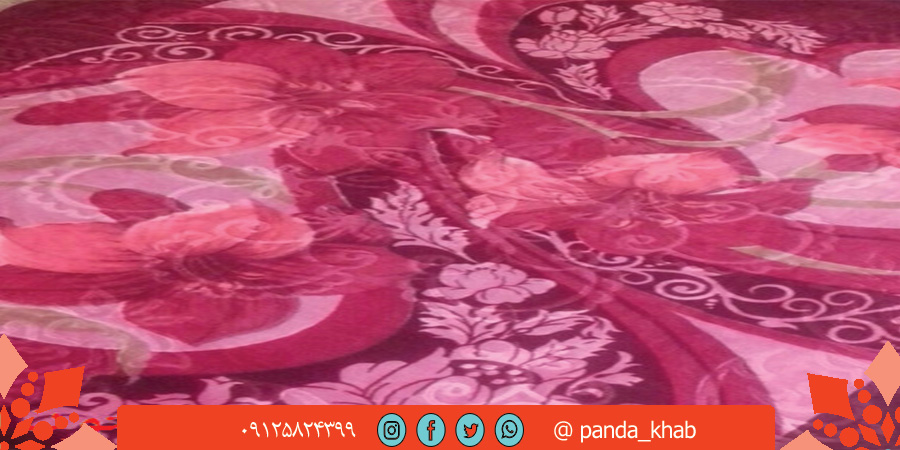 تولیدی پتو گلاریس گل برجسته ایرانی
