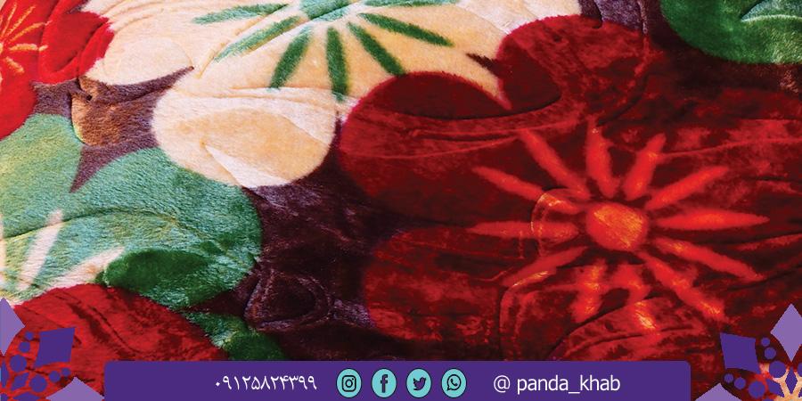 فروش عمده پتو نرمینه مدل نگین با قیمت ویژه